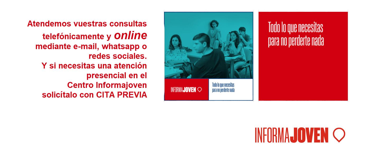 Atención Online y Presencial del Informajoven